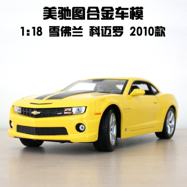 1:18 free shipping Bumblebee camaro Diecast Car Model Toy Car model Electronic Car with Kids Toys Gift