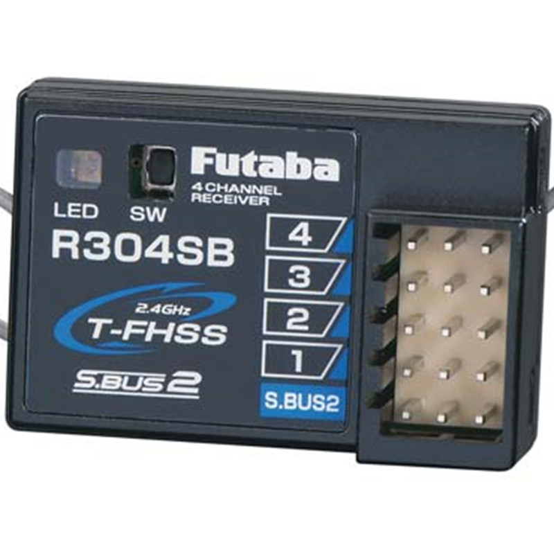 Tarot-RC Original Futaba R304SB S.Bus2 4-Channel T-FHSS Telemetry Rx for car