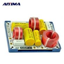 AIYIMA 2 unids AS-23C 2 Way 2 Unidad Divisor de Frecuencia de Crossover Filtros para KASUN Altavoz de Alta Fidelidad envío gratis