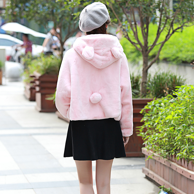 Nerazzurri χειμωνιάτικο παλτό γούνινο - Γυναικείος ρουχισμός - Φωτογραφία 3