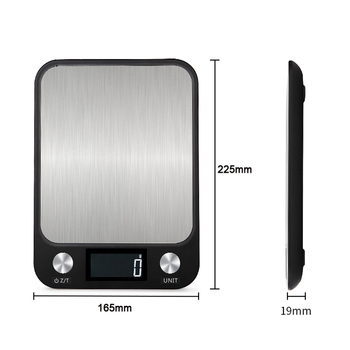 Timbangan Dapur Multi Fungsi dengan LCD Display 10kg/1g  2