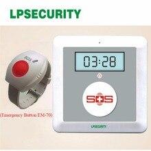 GSM SOS пожилых блок сигнализации K4 с вызова скорой помощи Andriod приложениях Беспроводной gsm набиратель номера в сигнализации