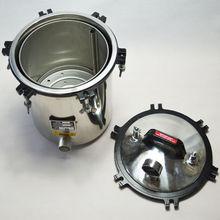 18L Autoclave Steam Sterilizer Scientific Equipment For Tattoo/Dental/Lab Use