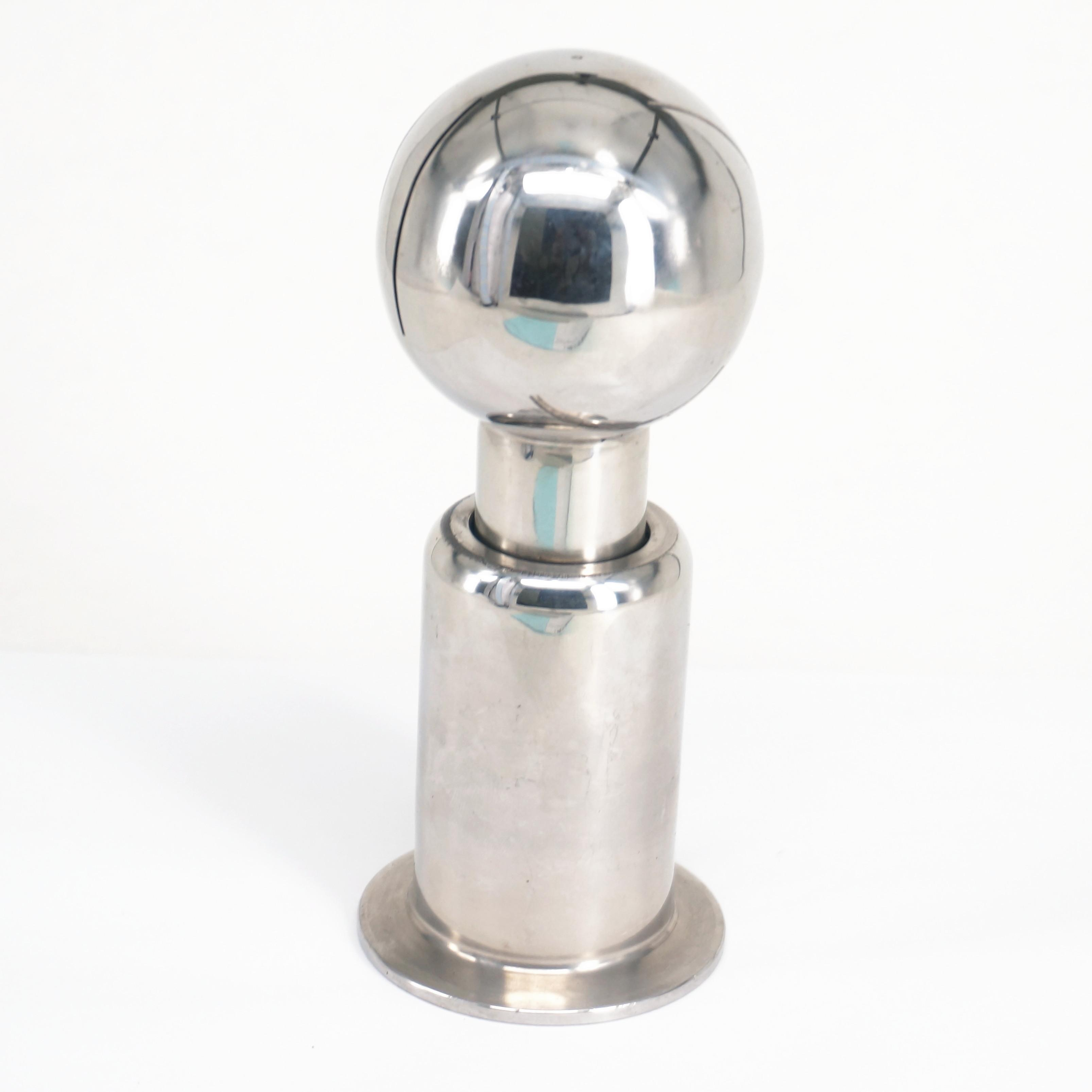 2 Stainless Steel SS304 Rotary Spray Ball 2 Tri Clamp Clamp CIP Tank Cleaning