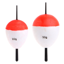 10 Polystyrene Pcs / set Fishing Floats with Rods Fishing Accessory Float Fish Sea Outdoor Professional