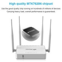 WE1626 Long Range Indoor Wireless di Rete 12V 1A Router Spina Porta USB E Antenne Esterne MT7620N openVPN 300Mbps wiFi Router