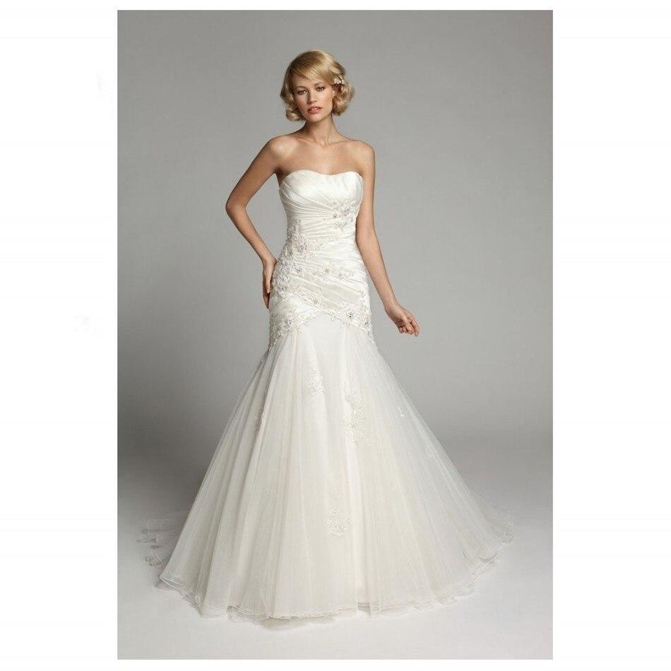 Online Get Cheap Tulle Bridal Custom Wedding Dress -Aliexpress.com ...
