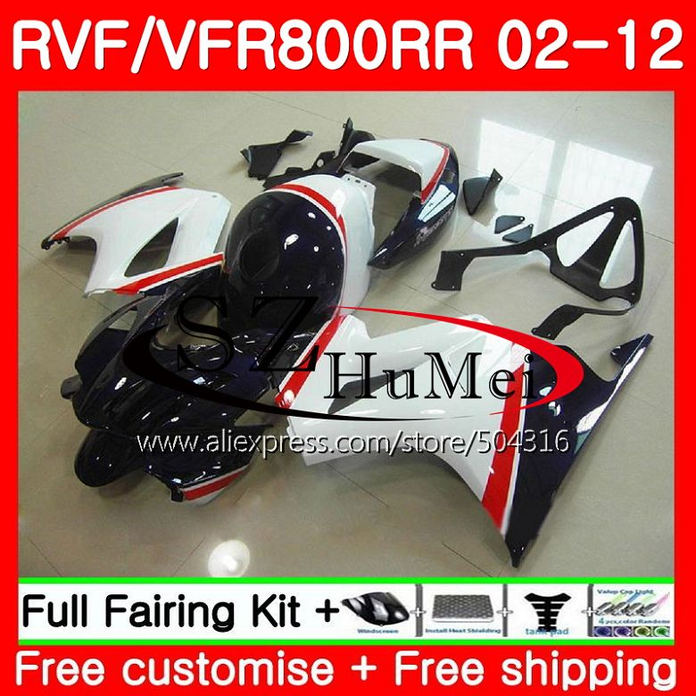 Fairings For HONDA Interceptor VFR800RR 02 03 04 05 06 07 113SH.9 VFR 800R VFR800 RR Dark blue new 2002 2003 2004 2005 2006 2007Fairings For HONDA Interceptor VFR800RR 02 03 04 05 06 07 113SH.9 VFR 800R VFR800 RR Dark blue new 2002 2003 2004 2005 2006 2007