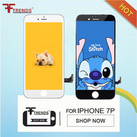 OEM 2pcs For Apple IPhone 7 Plus Touch Screen LCD Display Assembly 3D Screen Display Replacement