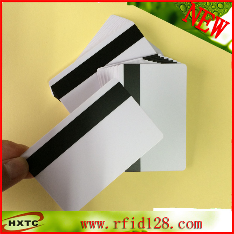 Free Shipping 200PCS/Lot PVC 3track Hi-Co Magnetic Stripe Blank Smart magstripe Card 100pcs lot printable pvc blank white card no chip for epson canon inkjet printer suitbale portrait member pos system