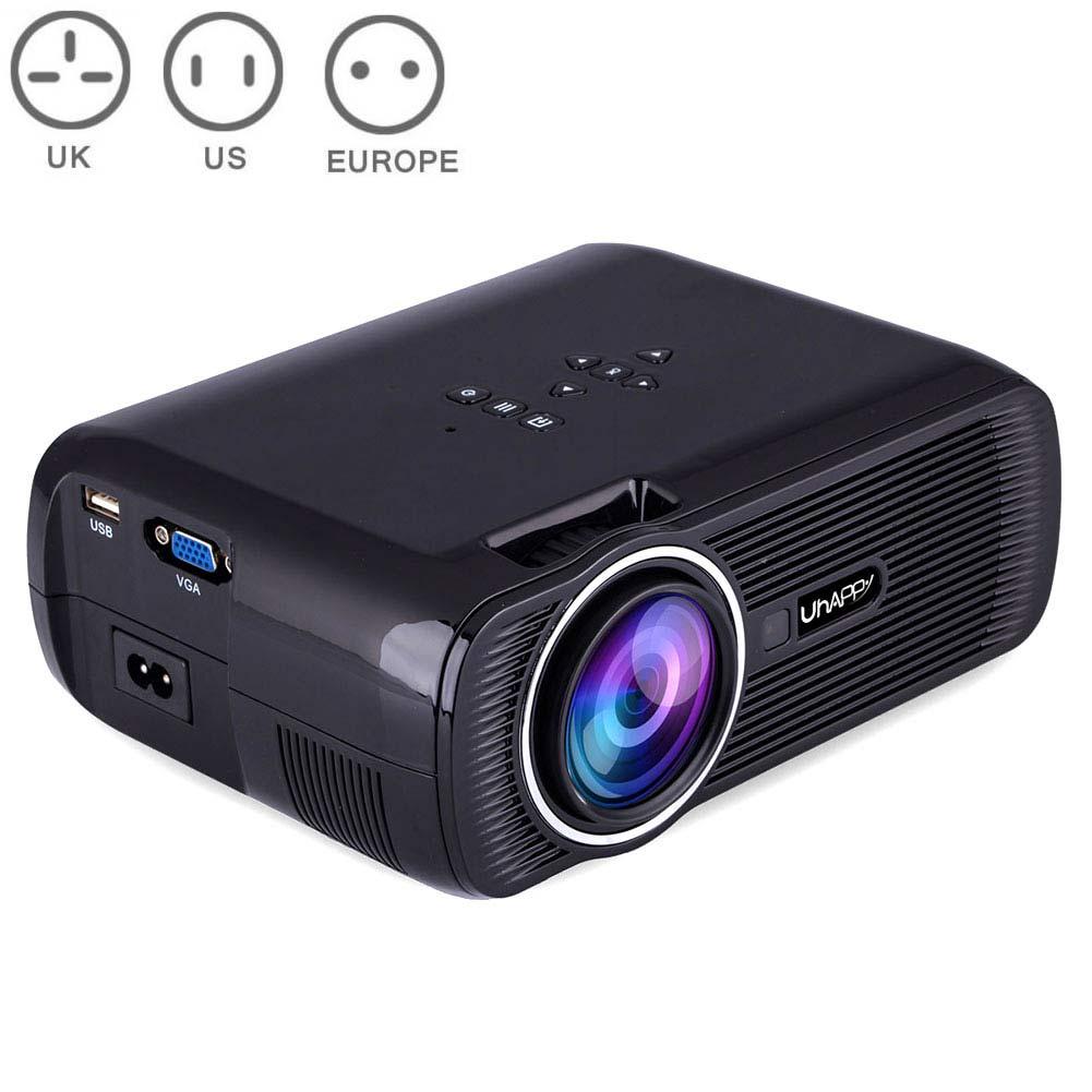 Portable Wifi Projecteurs 1080 P Android4.4 HD 7000 Lumens Film lecteur multimédia projecteur de cinéma maison Pour jeu vidéo TV SD998