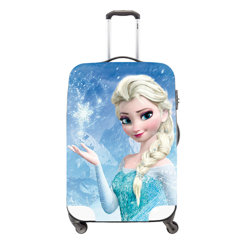 Travel Luggage Cover cartoon Waterproof Protect Covers for Suitcase Case girl\'s Travel Accessories_meitu_10