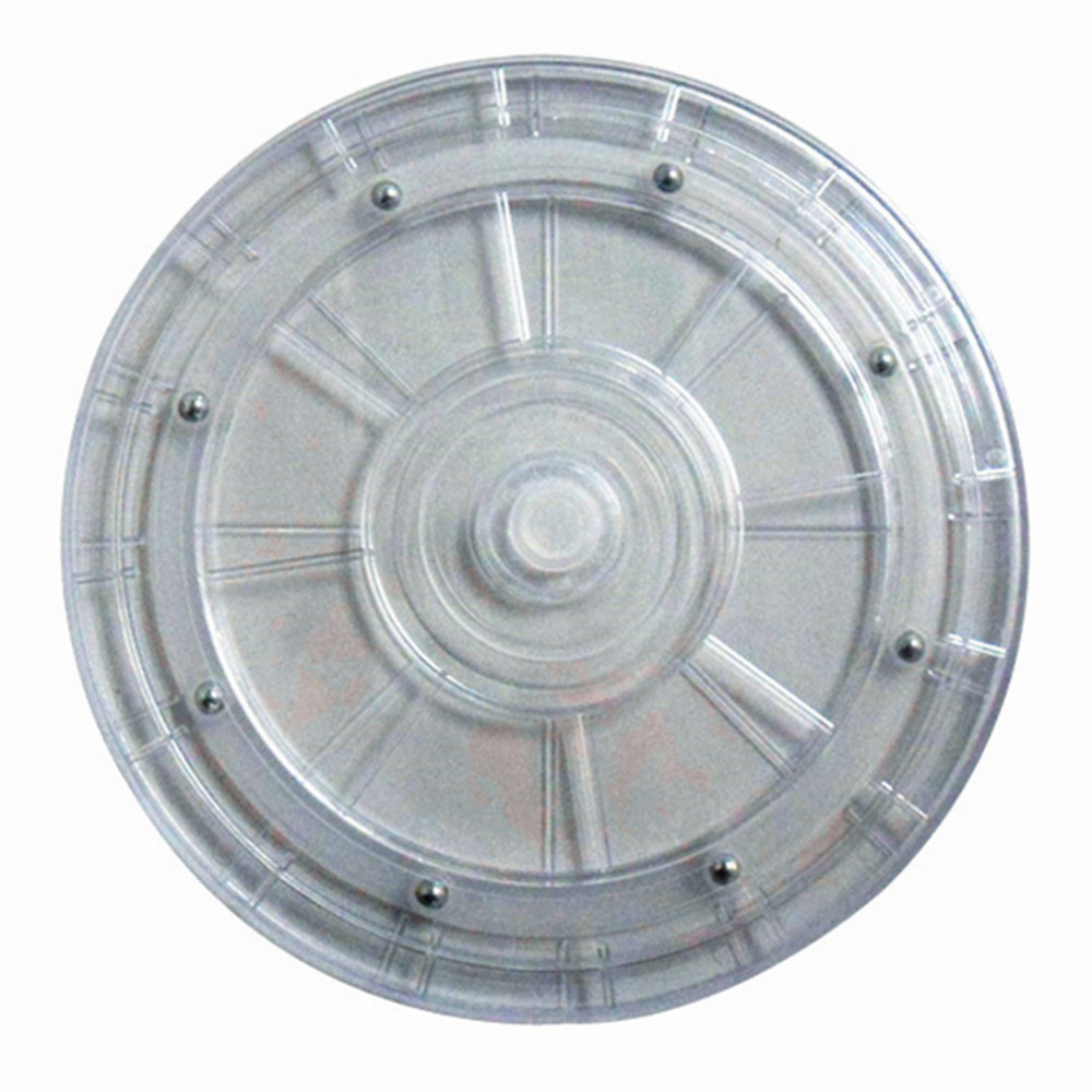 23CM Plastic Manual Turntable Transparent Acrylic Turntable TV Furniture Rotating  Base Accessories