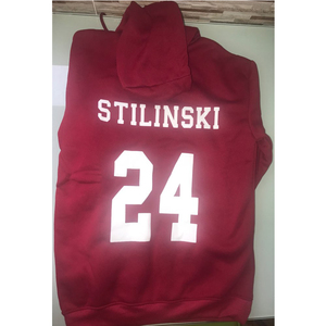 Image 5 - Teen Wolf Hoodie Mannen Stilinski 24 Lahey McCall Sweatshirt Mannelijke Print Rode Hooded Heren Hoodies Hip Hop Hoddies Streetwear