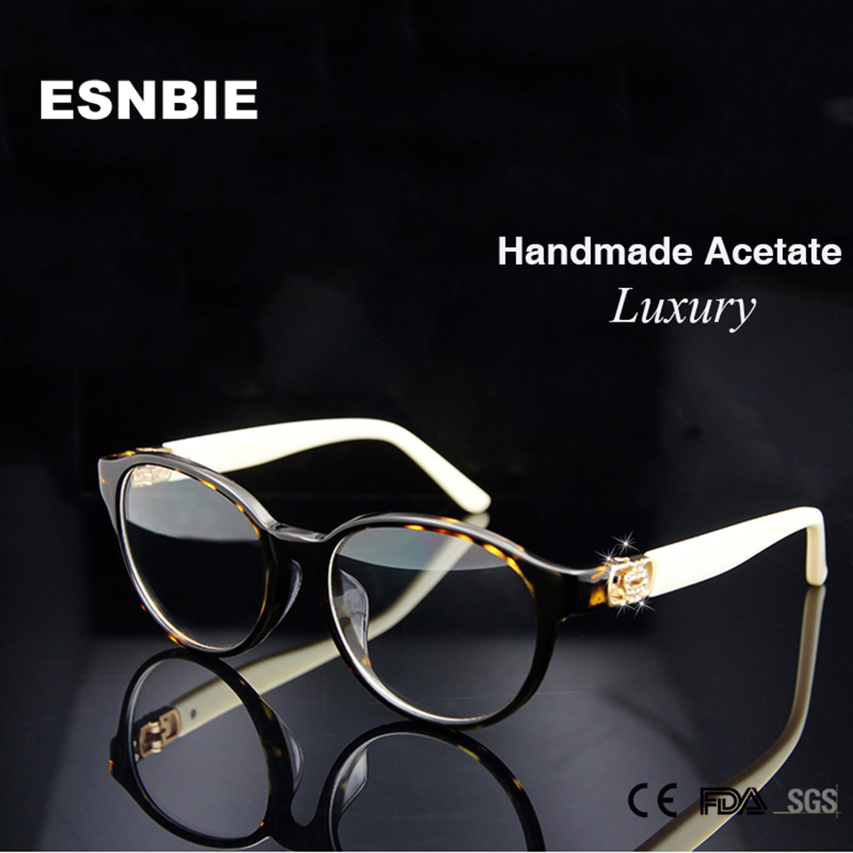 cbf89c537b1 High Quality Brand Design Eyewear Frames Women Luxury occhiali ...