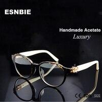 High Quality Brand Design Eyewear Frames Women Luxury occhiali Prescription Glasses Frame in Clear Lens Rx Optical Frame Woman