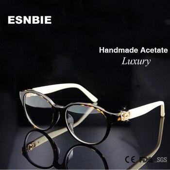 36b44b55f9 Marcos de gafas de diseño de marca de alta calidad para mujeres de lujo  occhiali Marco de gafas de prescripción en lente transparente Rx marco  óptico para ...