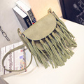 1pc Women Bag Tassel Bag Designer  Bags  Ladies PU Leather Fashion Crossbody Bags for Women -- BIA195 PRP