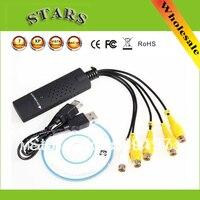 Wholesale 4 CHANNEL USB DVR Video Audio Capture Adapter Easy Cap Easy Capture Usb Capture Video