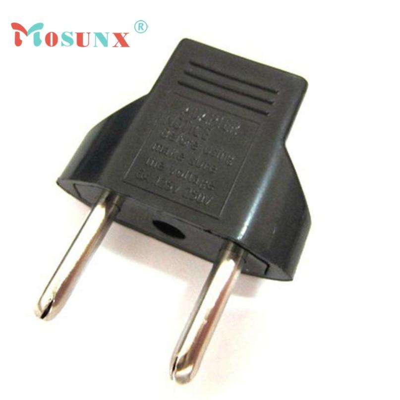 Plug Adapter US to EU Travel AC Power Socket Adapter Converter 2 Pin 0418 drop shipping Drop Shipping
