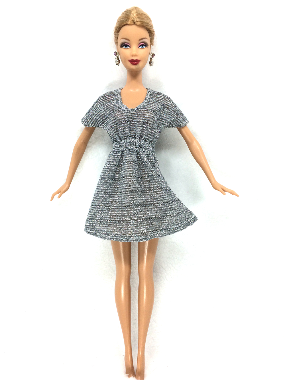 NK 2017 Newest Doll Dress Beautiful Handmade Party ClothesTop Fashion Dress For Barbie Noble Doll Best Child Girls'Gift 059B майка для девочки 28614 059 розовый noble people