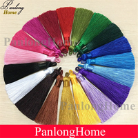 PanlongHome Handmade Short Fat DIY Accessories New Chinese knot Delicate Tassels 9cm Polyester Tassel