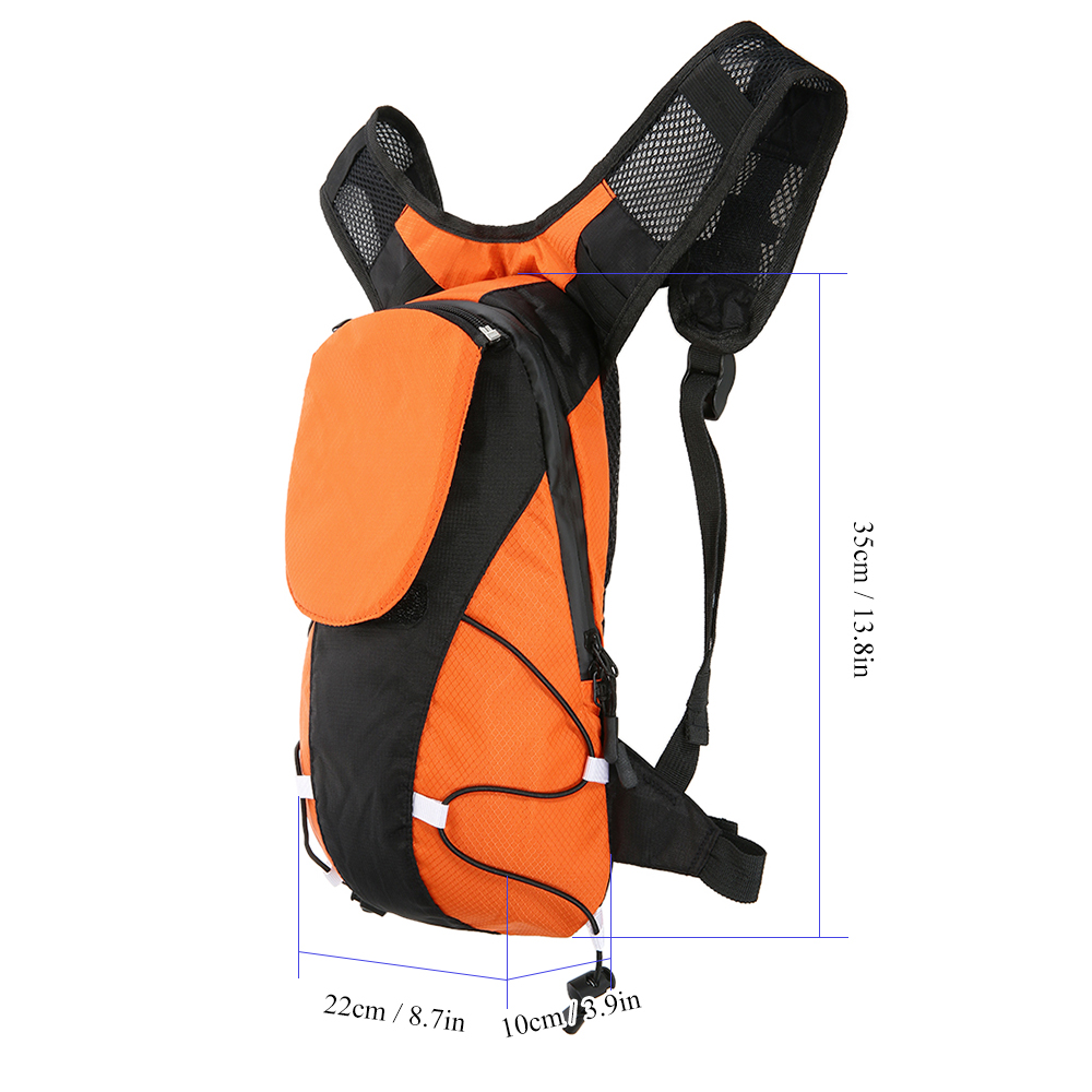 Clever Lixada 5l Usb Rechargeable Reflective Backpack With Led Signal Light Outdoor Sport Safety Bag Gear For Walking Jogging City Jogging Bags Sports Bags