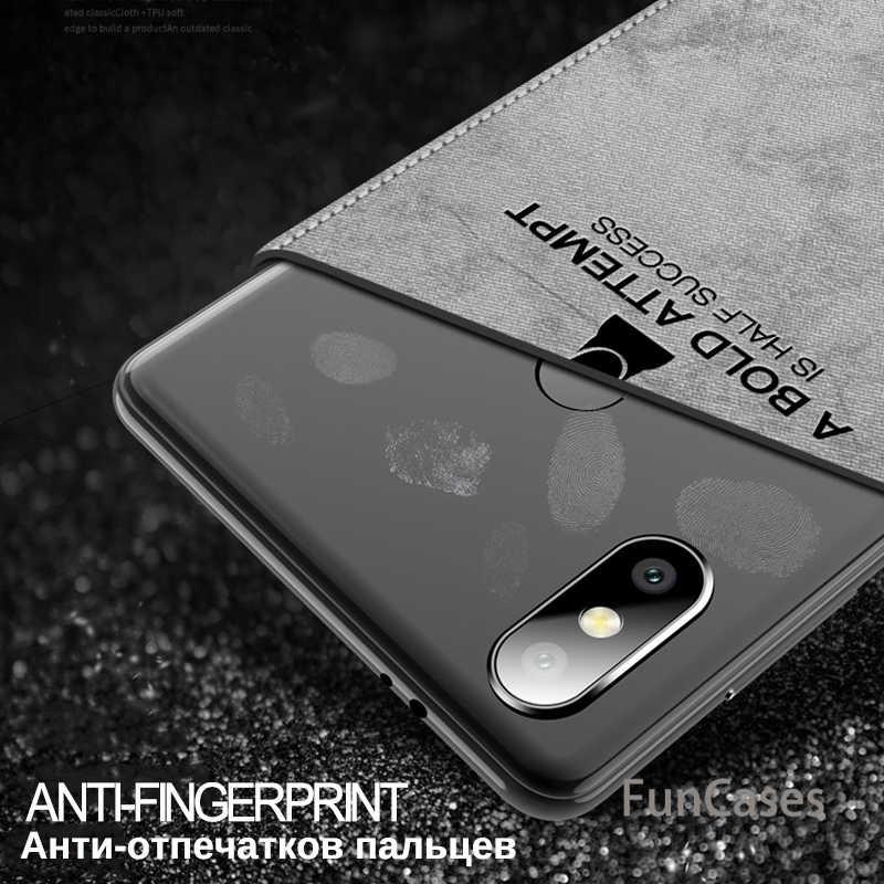 Чехол для Xiaomi Redmi Note 6 Pro Примечание 5 4 4x 5A 6A 5 плюс mi A2 A1 8 SE Pocophone mi Max 3 крышка Ткань олень плотный чехол