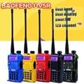 2pcs BaoFeng UV5R Walkie Talkie Dual Band UV5R CB Radio 128CH VOX Flashlight Dual Display FM Transceiver Hunting Radio
