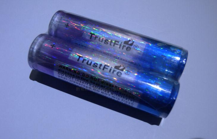 10pcs/lot TrustFire 3.7V 18650 2000mah Lithium Protected Battery Rechargeable Batteries with PCB For Flashlight Torch