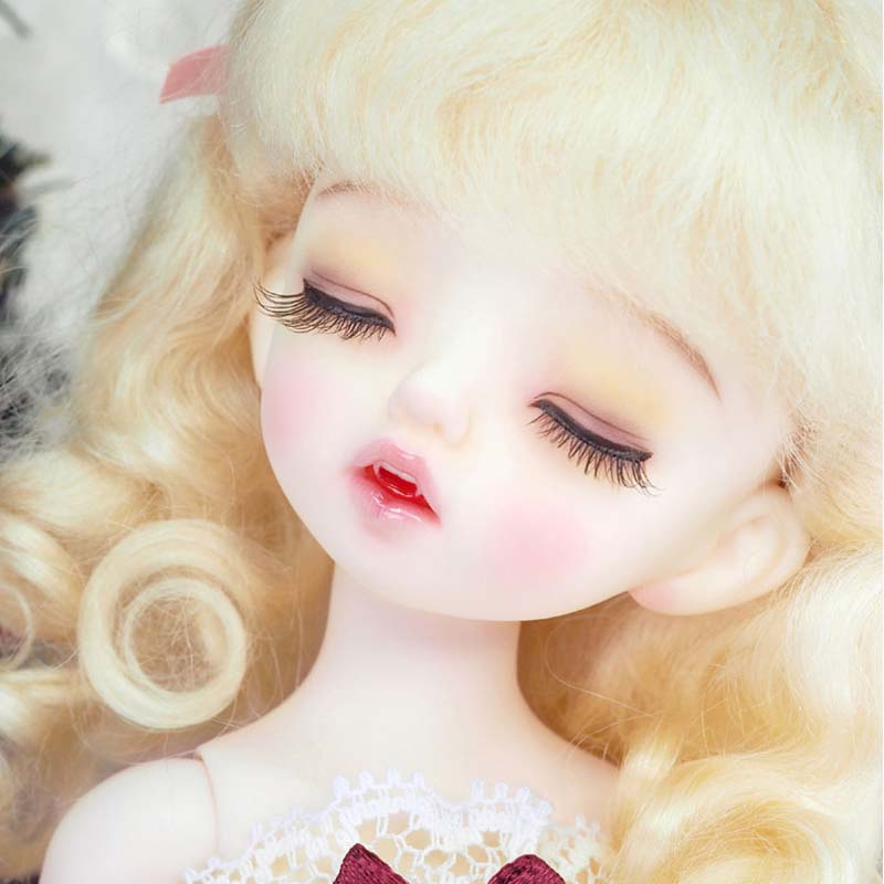 New arrival NP Sleeping Karou BJD SD Doll 1/6 YOSD Reborn Baby Girls Boys High Quality Doll With Make Up uncle 1 3 1 4 1 6 doll accessories for bjd sd bjd eyelashes for doll 1 pair tx 03