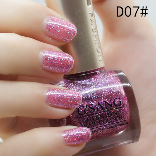 Sale Christmas Gift Luxury Blue Glaze Nail Polish Lacquer From China Gsang Brand Glitter Sweet Color