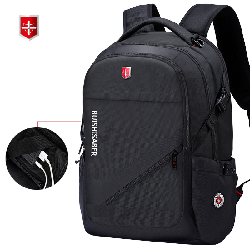 Anti Theft Oxford Business Backpack Men External Charging USB Function Laptop Backpack Swiss Waterproof Travel bag