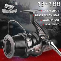 Lizard 10000 size full metal spool Jigging trolling long shot casting for carp and salt water surf spinning big sea fishing reel