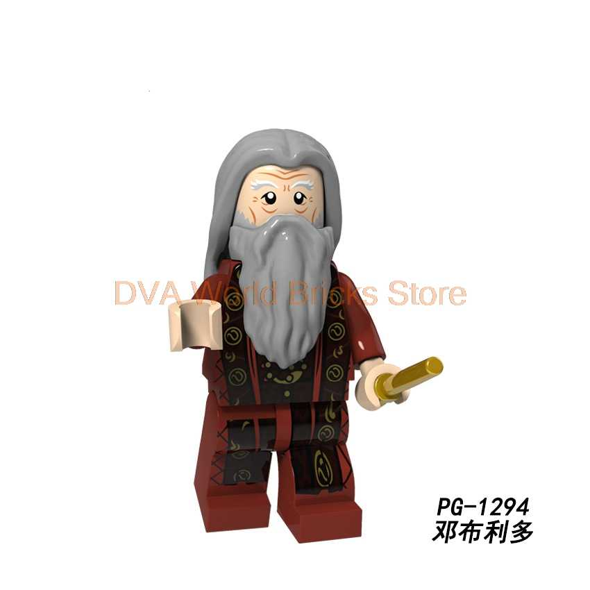 For Potter Figures Philosopher's Stone Professor Snape McGonagall Quirrell Oliver Wood Building Blocks Bricks toys