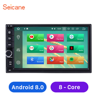 Seicane 7 8 core 1024*600 HD Touchscreen Android 8.0 2 Din Universal Car Radio Bluetooth GPS System for NISSAN TOYOTA KIA
