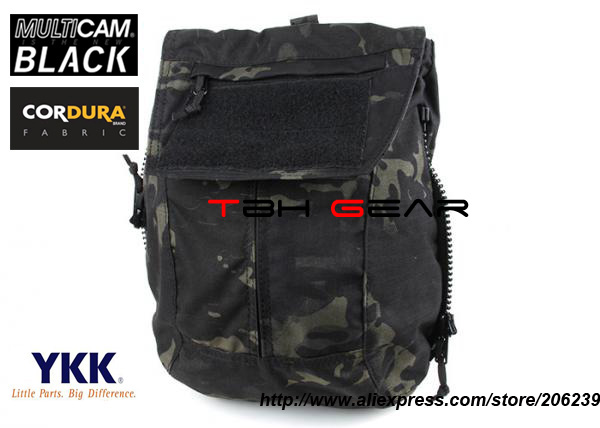 ФОТО TMC Tactical Vest Zip On Panel Pack For AVS CPC JPC2.0 Multicam Black Utility Pouch Bag+Free shipping(SKU12050867)
