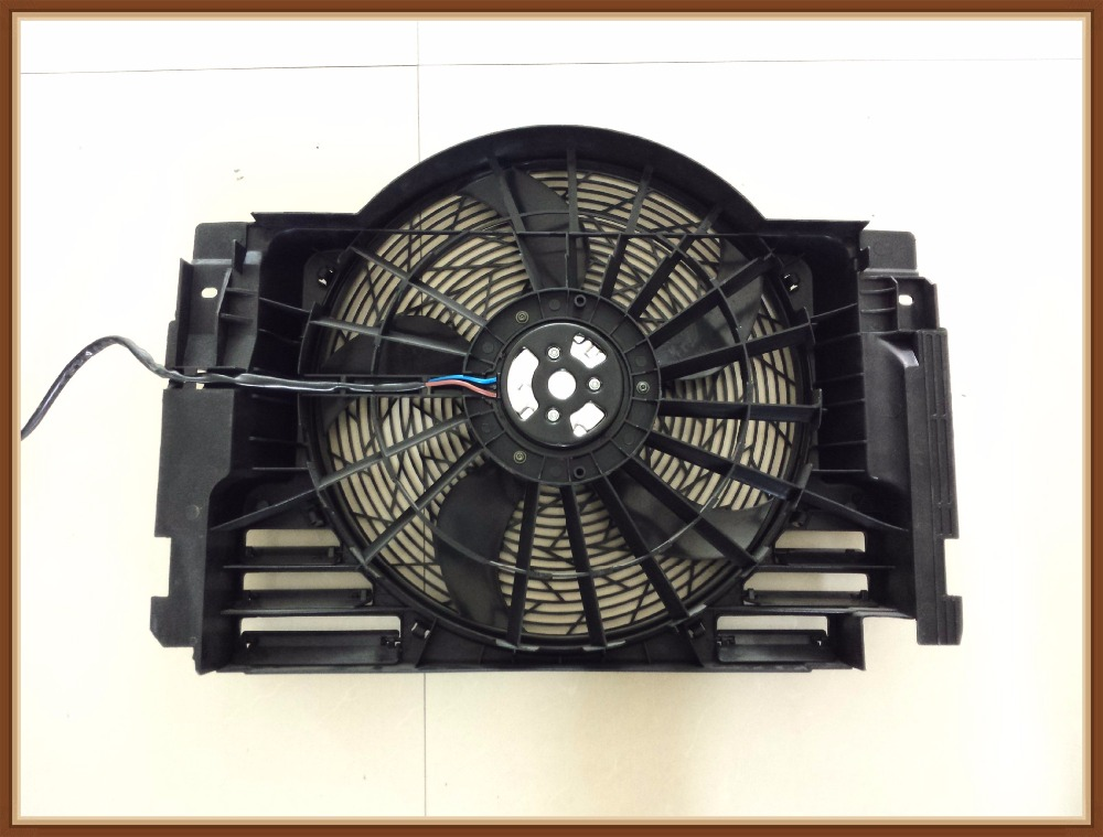 New <font><b>Cooling</b></font> <font><b>Fan</b></font> <font><b>Motor</b></font> For 00-06 <font><b>BMW</b></font> X5 OE: 64546921940 / 64546921381 / 64 54 6 921 940 RADIATOR ASSEMBLY 4 pieces / lot image