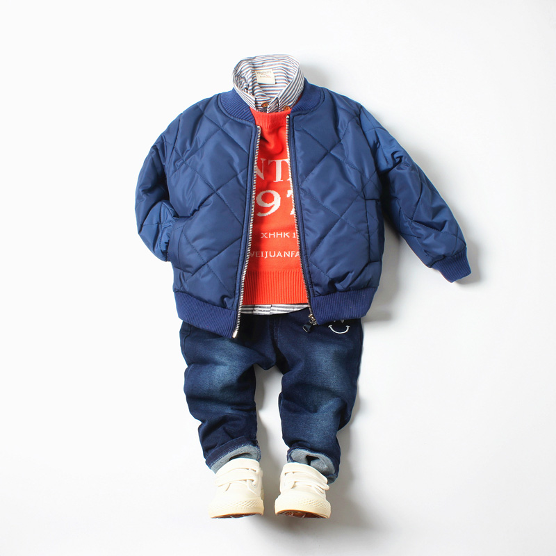 HTB1YNmiq5FTMKJjSZFAq6AkJpXac - children casual jacket coat kids windproof warm cotton Outerwear baby boy thicken jackets Down Parkas winter children clothing