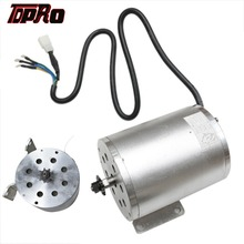 цена на TDPRO New T8F 9T 48v 1800w DC Electric Brushless Start Motor 4500rpm Silver Non-Brush DC Motors For Buggy ATV Go Kart Dirt ATVs