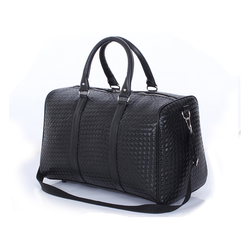 Large Capacity Fashion High End Brand Leather Package Men Bag Women Duffle Travel Bags Suitcase S In From Luggage On