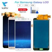 5,5 «J710 ЖК-дисплей для SAMSUNG Galaxy J7 2015 J700 и J7 2016 J710 и J730 J7 Pro 2017 Замена ЖК-дисплей Дисплей Сенсорный экран планшета