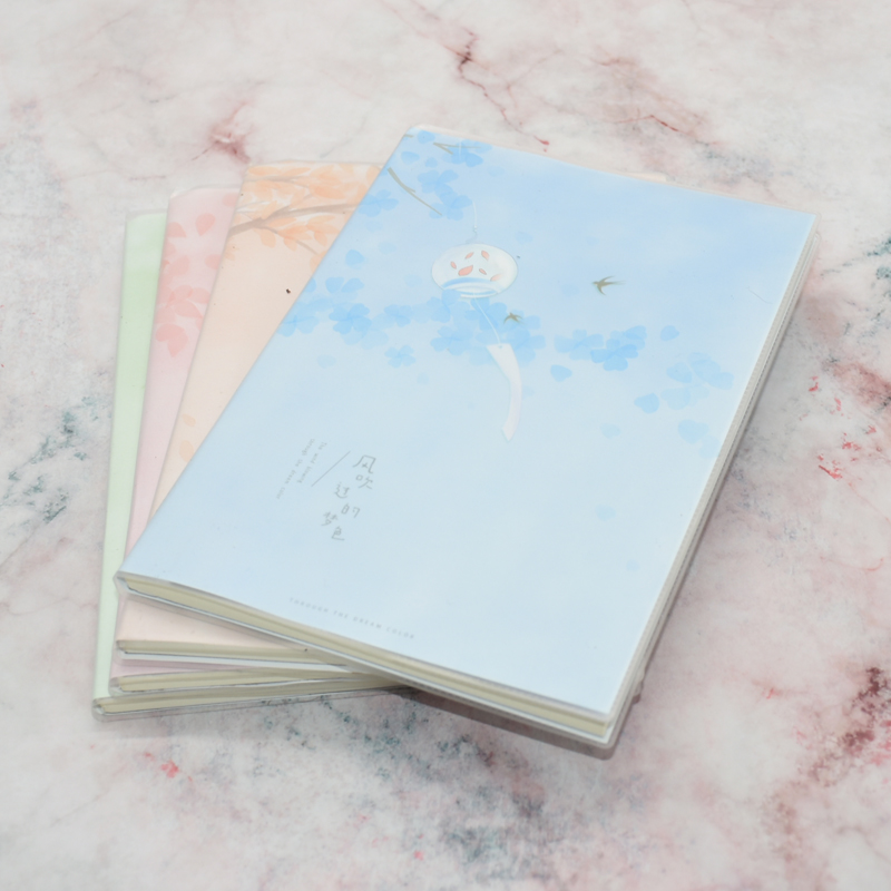 Cute A5 Environmental High Quality Notebook 32k Student School Supplies And Office Notebook