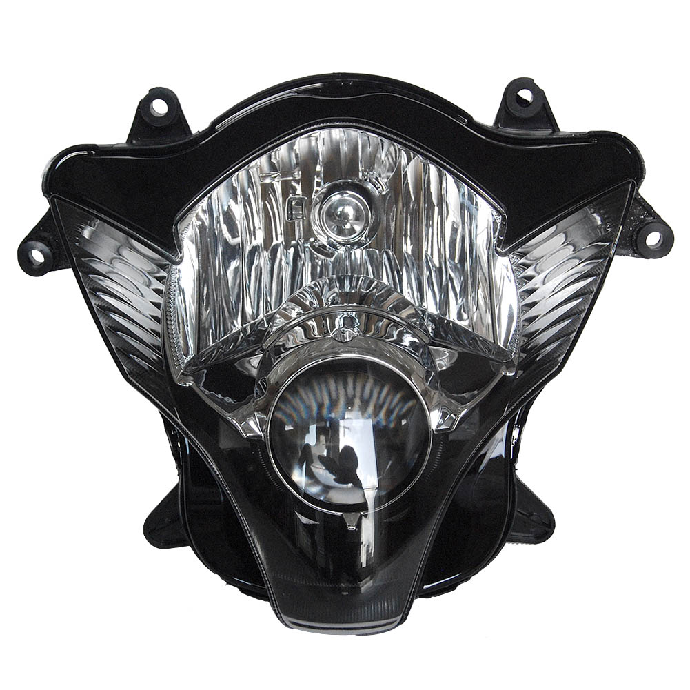 color blanco GZYF Faro delantero para motocicleta Kawasaki GTR1400