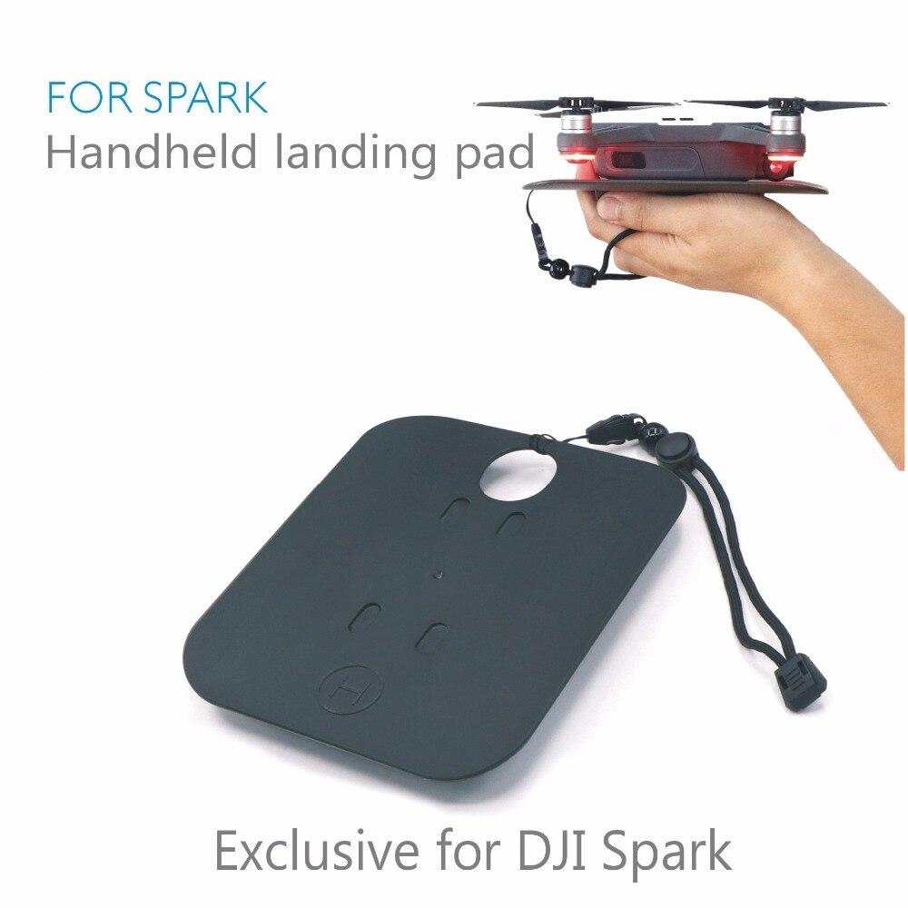 New Arrival DJI Spark Handheld Accessories Mini Palm Landing Pad Landing Field Handful Parking Apron for