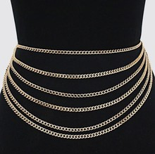 Sexy Waist Chain Women Layer Belly Chain 2017 New  Fashion Accessories Layers Body Chain Jewelry For Women