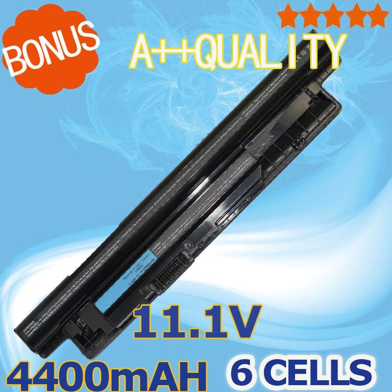 4400mAh Laptop font b Battery b font For Dell Inspiron 17R 5721 17 3721 15R 5521