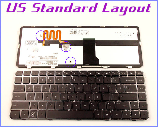 New US Layout Keyboard for HP Pavilion DV5 2135DX XH004UA DV5 ...