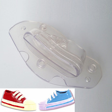 Plastic Chocolate Mold 3D Candy Cake Molds Decorating Tools Children Shoes Shape Sports Shoe Mould Fashion