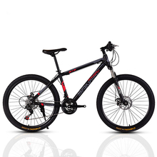 AOXIN 26-inch mountain bike Variable speed dual disc brakes high carbon steel mountain bicycles sport men women bicicleta